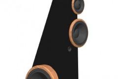 Speaker design, modeled in AutoCAD. 2003.