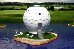 Golf-Ball-House_Rear