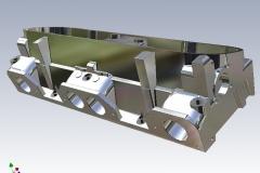 Pontiac cylinder head modeled in Inventor, 2003.
