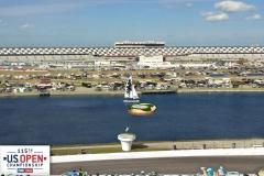 Visualization of green for U.S. Open promotion, Daytona Speedway.