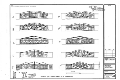 Gate concept drawings.