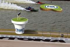 Daytona Speedway visualization of golf event concept.