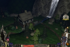 """Environment section from """"Knightfall"""" video game engine demo, for Applied Ideas."""