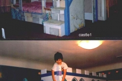 2 style of castle beds which were very popular.