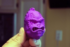 Grape Ape shift knob. Modeled in 3ds Max and 3D printed.