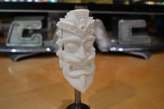 V8 Tiki, variation on Santa Tiki. Will be hand painted.
